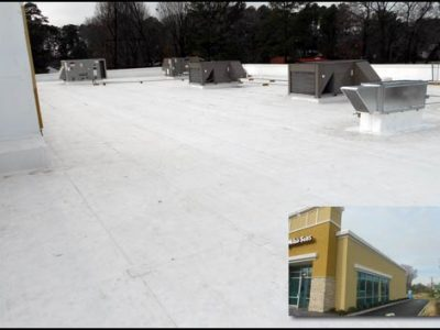snow on flat roofs commercial roofing roof coatings gallery roofing exteriors